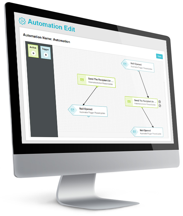 Editing automation Screen