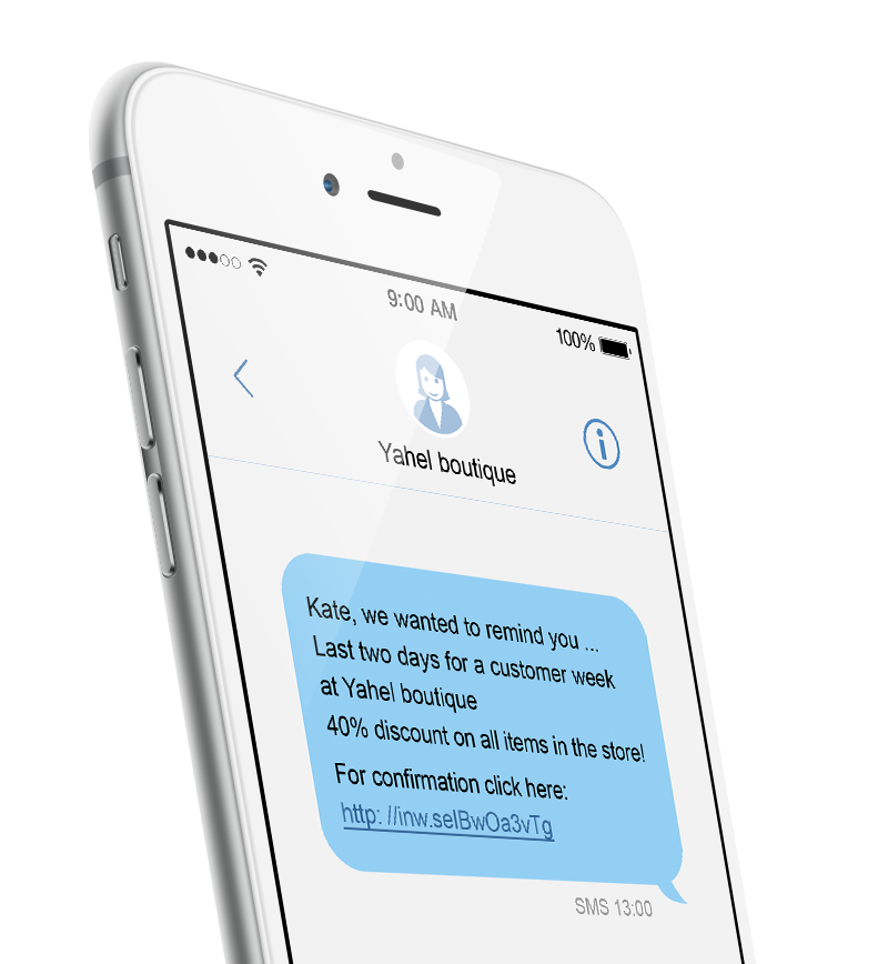 Salesforce - personalized SMS